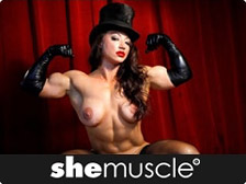 She Muscle - the sexiest, most powerful women in the word show You how strong they are!