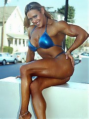 Colette Nelson the best chests ever and very good biceps, back, triceps